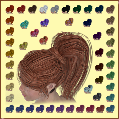 NJA (Not Just Another) Ponytail Colours
